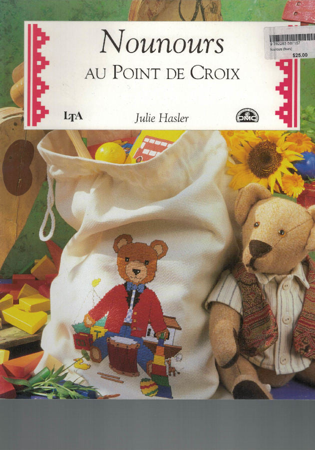 Teddies (Nounours) - DMC Cross Stitch Publication