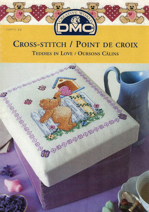 Teddies in Love - DMC Cross Stitch Publication