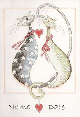 Purrfect - a Design Works counted cross stitch kit
