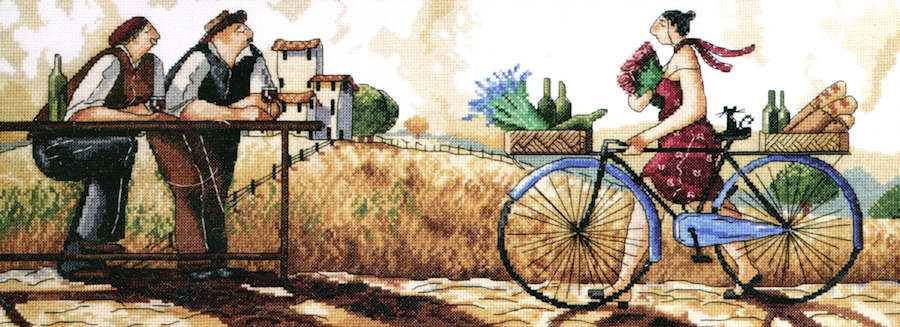 The Delivery - a Design Works counted cross stitch kit