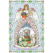 Kitty Angel - a Design Works counted cross stitch kit