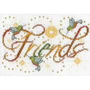 Friends - a Design Works counted cross stitch kit