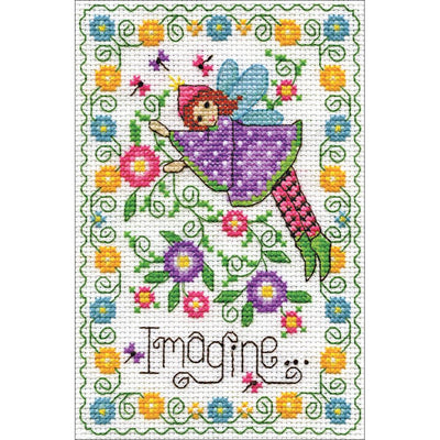 Imagine Fairy - a Design Works counted cross stitch kit