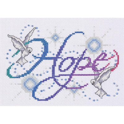 Hope - a Design Works counted cross stitch kit