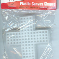 Plastic Canvas - 7 Count - 3&  Cross Shape - Pkt of 10