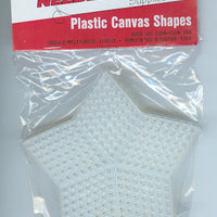 Plastic Canvas - 7 Count - 3.25&  Star Shape - Pkt of 10