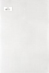 Ultra Stiff Plastic Canvas - 7 Count - Clear - (30cm x 45cm) minimum 4 sheets