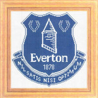 Everton FC Cross Stitch Design - stitchaphoto