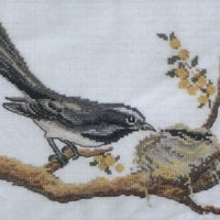 Mini Garden Birds - A Country Threads Cross Stitch Booklet
