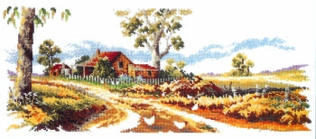 Gum Tree Lane - A Country Threads Cross Stitch Chart