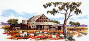 Woolshed - A Country Threads Cross Stitch Chart