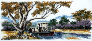 River Boat - A Country Threads Cross Stitch Chart