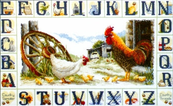 Country Sampler - Cross Stitch Chart