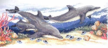 Dolphins - A Country Threads Cross Stitch Chart