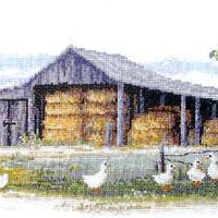 Hay Shed - A Country Threads Cross Stitch Chart