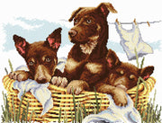 Wash-Day Kelpies - Country Threads Cross Stitch Chart Booklet