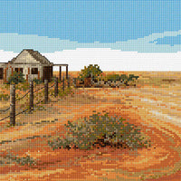 Sunburnt Country - A Country Threads Cross Stitch Chart Booklet