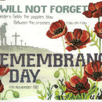 Remembrance Day - a Country Threads counted Cross Stitch Chart