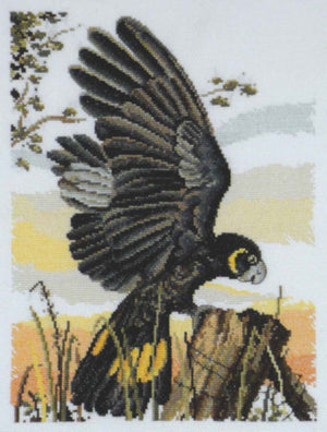 Black Cockatoo - Country Threads Cross Stitch Chart Booklet