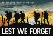Soldiers at Sunset - a Country Threads Counted Cross Stitch Chart Booklet