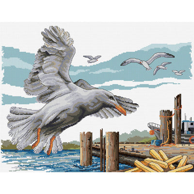 Seagull's Take-Away - A Country Threads Cross Stitch Kit