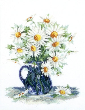 Daisy-a-Day - A Country Threads Cross Stitch chart
