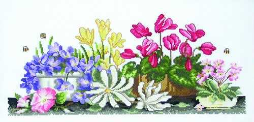 Lots of Pots - a Country Threads cross stitch chart