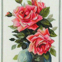 Forever Roses - A Country Threads Cross Stitch Chart Booklet