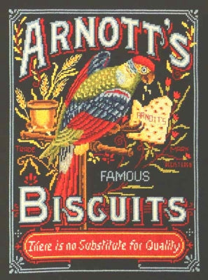 Arnott's Parrot - Country Threads Cross Stitch Chart Booklet