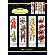 Wildflowers Bookmarks - A Country Threads Cross Stitch Chart