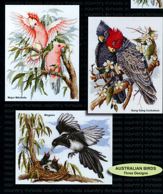 Australian Birds Cross Stitch Chart - stitchaphoto