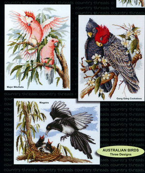 Australian Birds - A Country Threads Cross Stitch Booklet