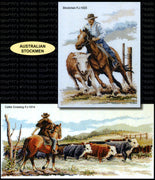Australian Stockmen - A Country Threads Cross Stitch Chart