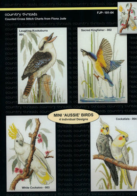 Mini Aussie Birds - A Country Threads Cross Stitch Booklet