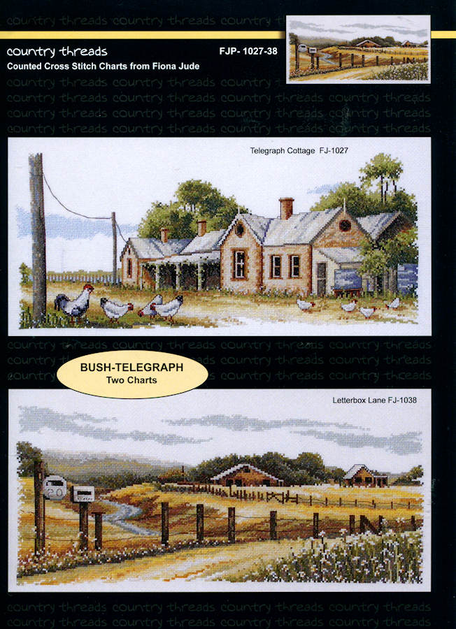Bush Telegraph - A Country Threads Cross Stitch Chart Booklet