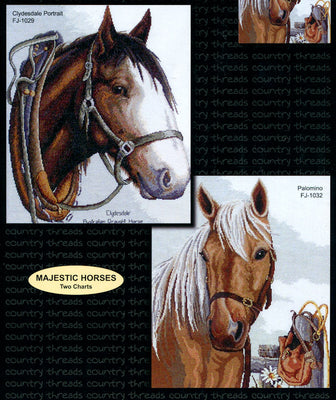 Majestic Horses - A Country Threads Cross Stitch Booklet