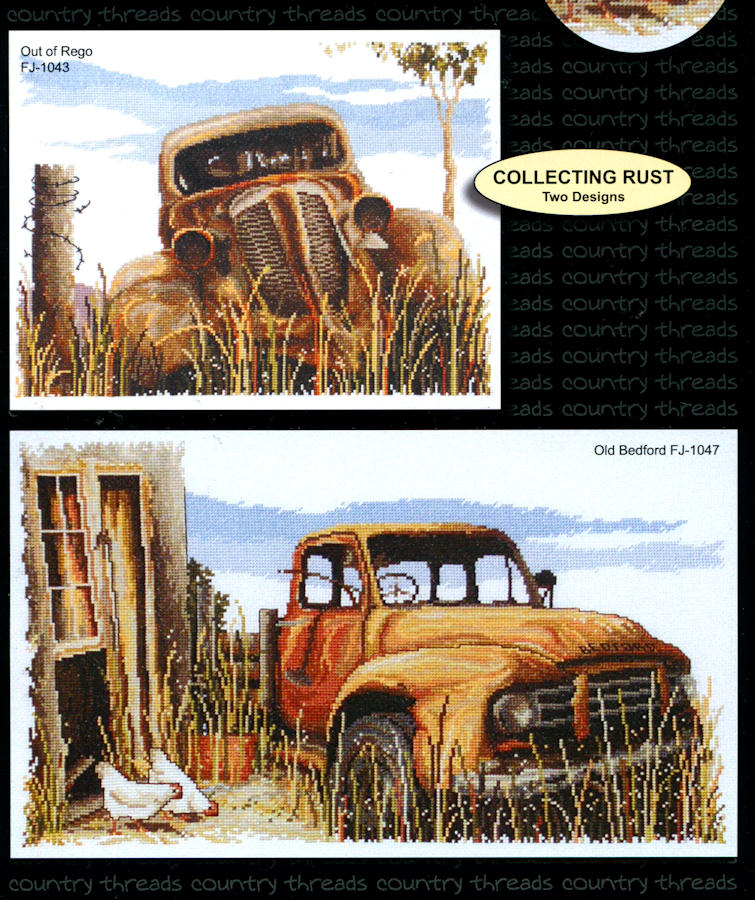 Collecting Rust - A Country Threads Cross Stitch Booklet