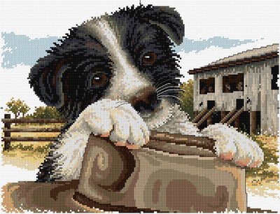 Ready for Work - Country Threads Cross Stitch Chart Booklet