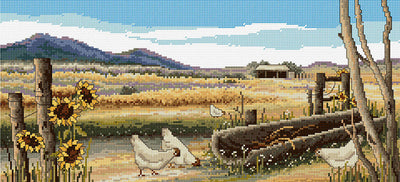 Sweeping Plains - A Country Threads Cross Stitch Chart Booklet
