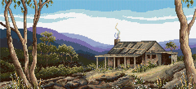 Mountain Ranges - A Country Threads Cross Stitch Chart Booklet