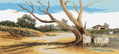 The Drought - A Country Threads Cross Stitch Chart Booklet