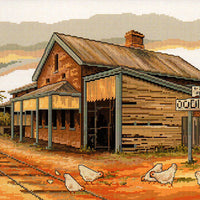 Oodnadatta Railway - A Country Threads Cross Stitch Chart Booklet