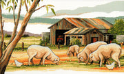 Sheep Shed - A Country Threads Cross Stitch Chart Booklet