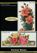 Forever Roses - A Country Threads Cross Stitch chart
