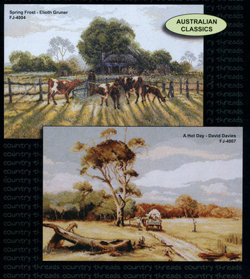 Australian Classics - A Country Threads Cross Stitch Booklet