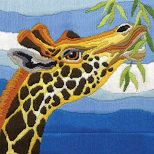 Giraffe - A Country Threads Longstitch kit