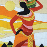 African Lady - A Country Threads Longstitch kit