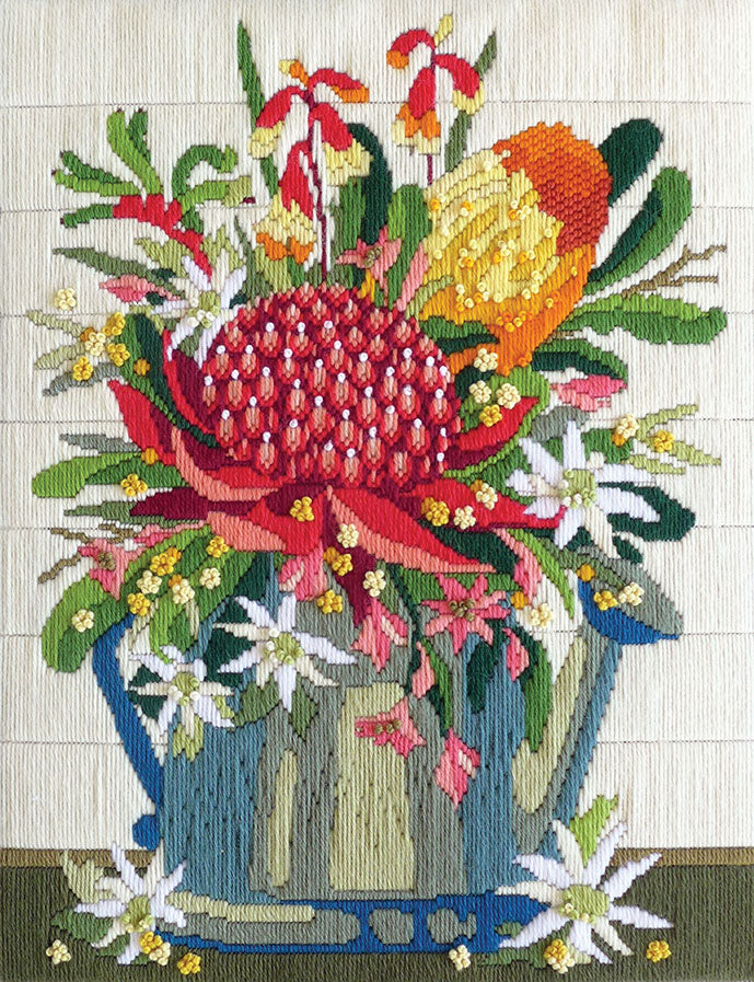 Wildflowers - A Country Threads Longstitch kit