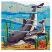 Dolphins - A Country Threads Longstitch kit