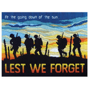Lest We Forget- A Country Threads Longstitch kit